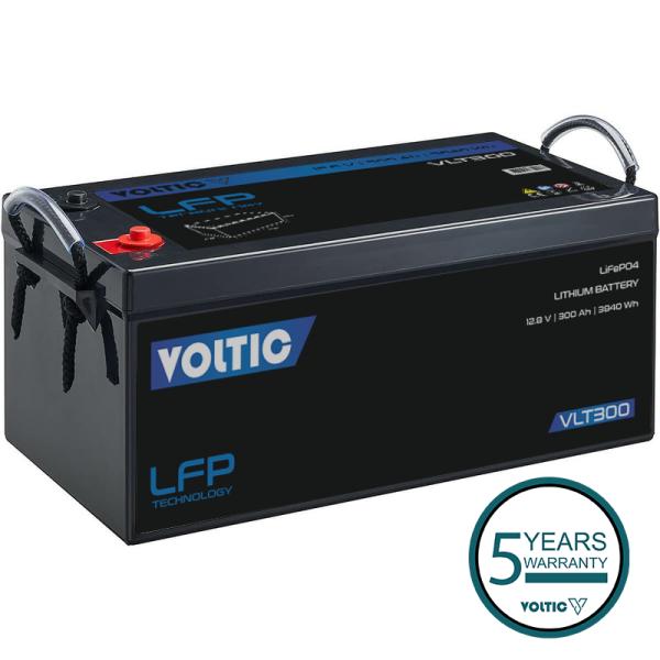 VOLTIC VLT300 12V LiFePO4 Lithium Versorgungsbatterie 300Ah