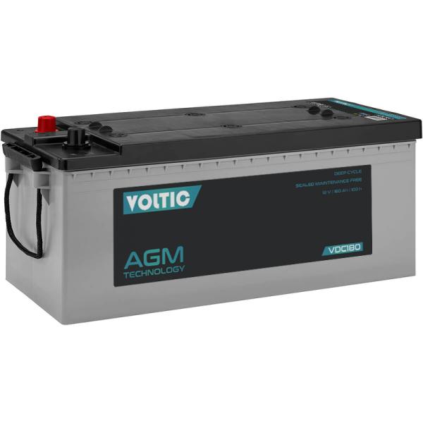 VOLTIC VDC180 Deep Cycle AGM 180Ah Batterie
