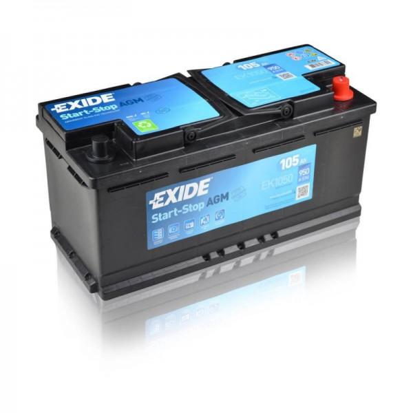 Exide-EK1050-AGM-105Ah-Autobatterie