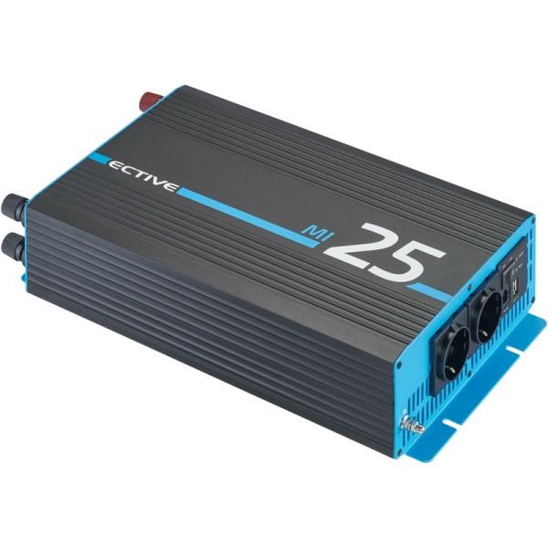 ECTIVE MI 25 2500W/12V Wechselrichter mit modifizierter Sinuswelle