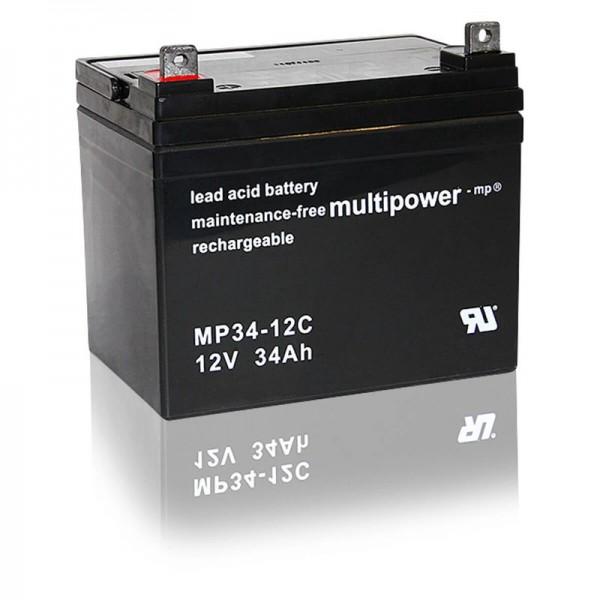 Multipower-MP34-12C-34Ah-AGM-Batterie