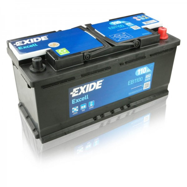 EXIDE EB1100 EXCELL STARTERBATTERIE 12V 110AH 850A