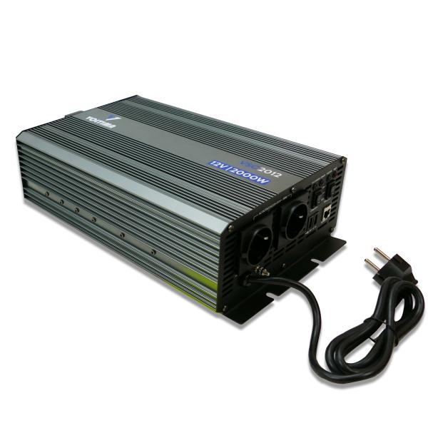VOLTIMA VSC1512 Sinus Charger-Inverter 1500W/12V Sinus-Wechselrichter mit Ladegerät und NVS