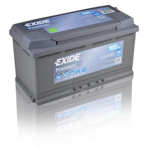 Exide-EA1000-Premium-Carbon-Boost-100Ah-Autobatterie