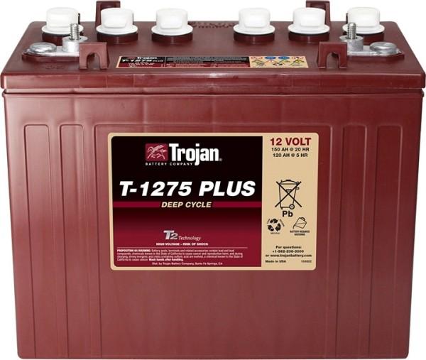 Trojan T-1275 Plus Deep Cycle 12V Traktionsbatterie 150Ah