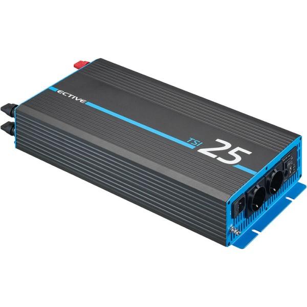 ECTIVE TSI 25 2500W/12V Sinus-Wechselrichter mit NVS- und USV-Funktion