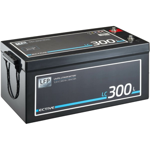 ECTIVE LC 300L 12V LiFePO4 Lithium Versorgungsbatterie 300 Ah