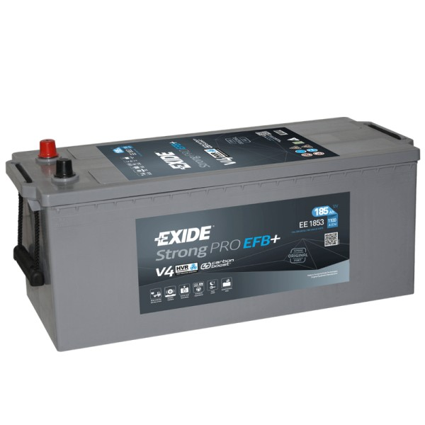 Exide EE1853 StrongPRO EFB+ 185Ah LKW-Batterie
