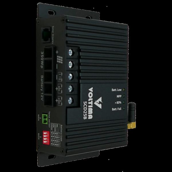 VOLTIMA SCD25B MPPT Solar-Laderegler Dual 12V 350Wp 50V 25A Bluetooth