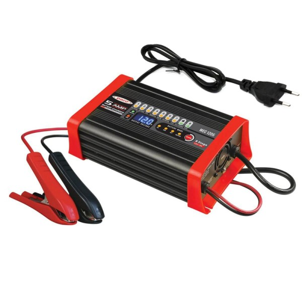 PACO MEC1205 5A/12V Batterieladegerät