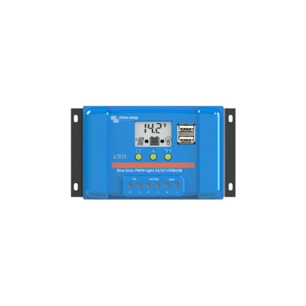 Victron BlueSolar 5A PWM Solar-Laderegler 12V/24V Batterie