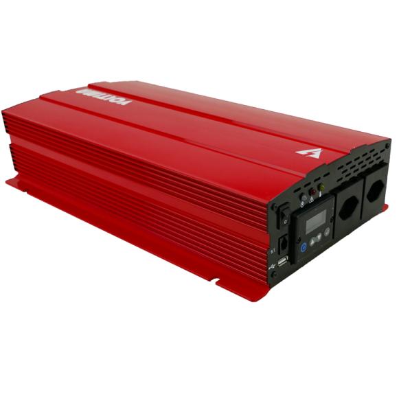 VOLTIMA VST202 Sinus-Inverter 2000W/12V Sinus-Wechselrichter mit NVS und USV (CH)