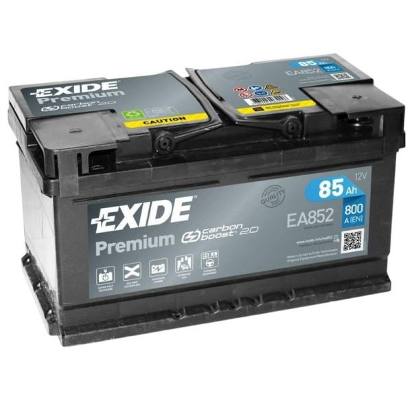Exide EA852 Premium Carbon Boost 85Ah Autobatterie 585 200 080