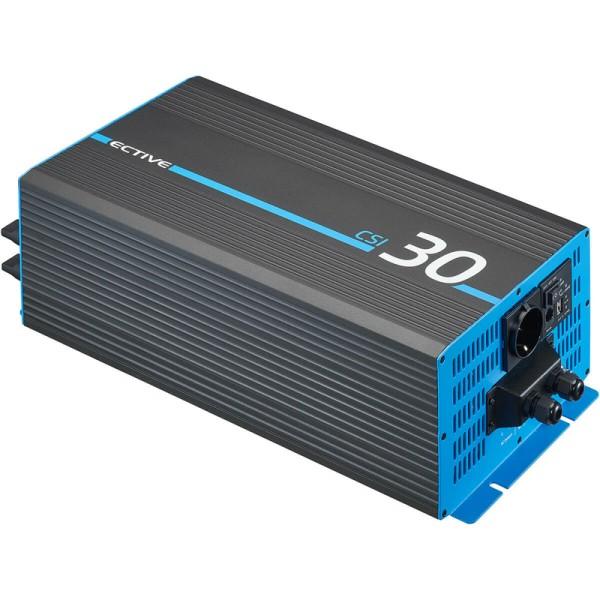 ECTIVE CSI 30 3000W/12V Sinus-Wechselrichter mit Ladegerät, NVS- und USV-Funktion