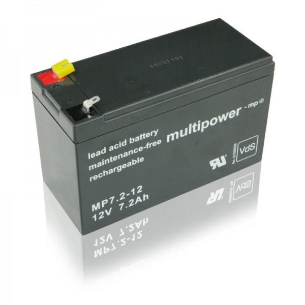 Multipower-MP7,2-12-7,2Ah-USV-Batterie