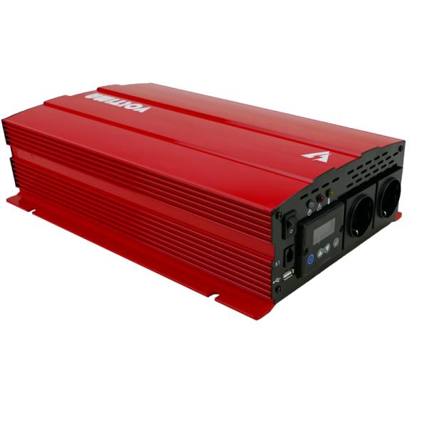 VOLTIMA VST152 Sinus-Inverter 1500W/12V Sinus-Wechselrichter mit NVS und USV