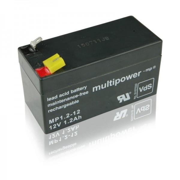 Multipower-MP1,2-12-1,2Ah-USV-Batterie
