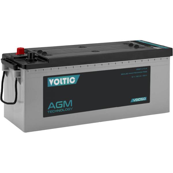 VOLTIC VDC150 Deep Cycle AGM 150Ah Batterie