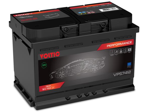 Voltic VP57412 Perfomance 75Ah Autobatterie