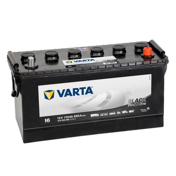 VARTA I6 ProMotive Black 610 050 085 LKW-Batterie 110Ah