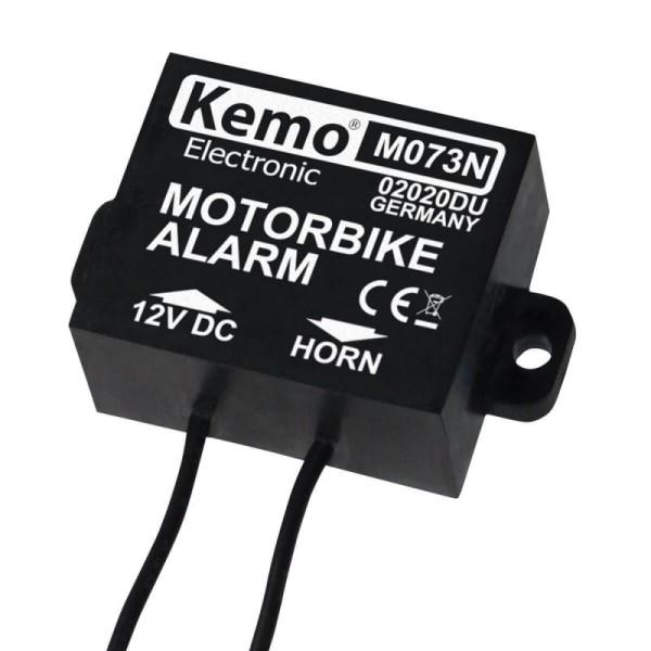 Mini Alarmanlage/Motorrad-Alarm KEMO M073N