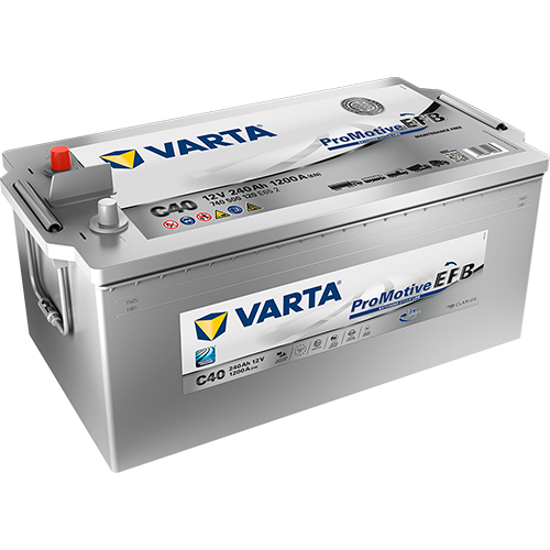 VARTA C40 ProMotive EFB 740 500 120 LKW-Batterie 240Ah