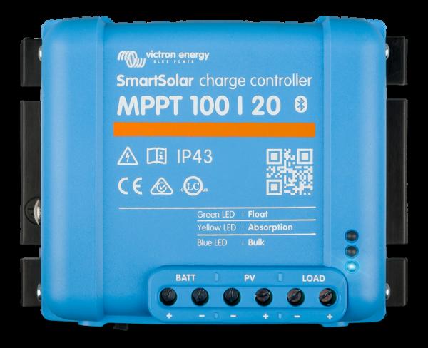 Victron SmartSolar 100/20 MPPT Solar-Laderegler 12V/24V Batterie