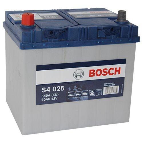 Bosch S4 025 60Ah Autobatterie 560 411 054