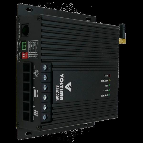 VOLTIMA SCN20B MPPT Solar-Laderegler 12V/24V 240Wp/480Wp 50V 20A Bluetooth