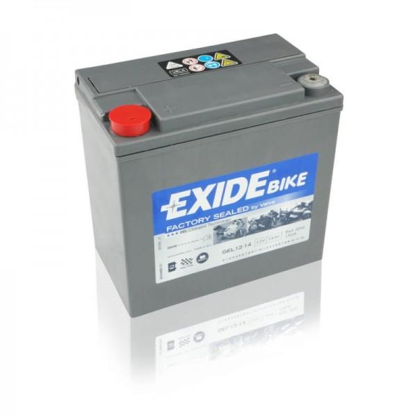 Exide-G14-Bike-GEL-14Ah-Motorradbatterie