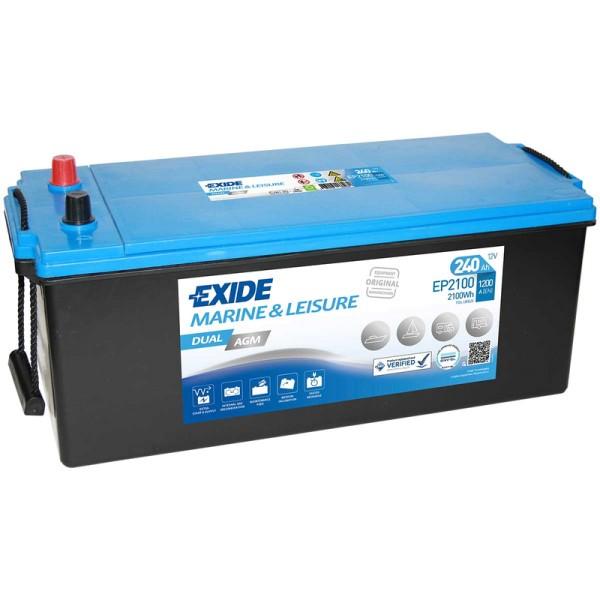 Exide-EP2100-Dual-AGM-240Ah-Batterie