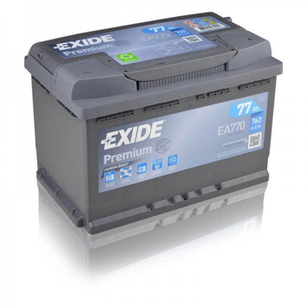 Exide-EA770-Premium-Carbon-Boost-77Ah-Autobatterie