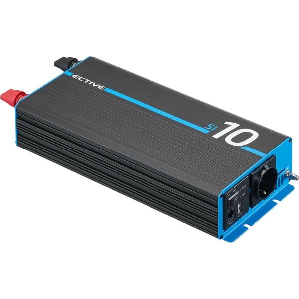 ECTIVE SI 10 1000W/12V Sinus-Wechselrichter mit reiner Sinuswelle