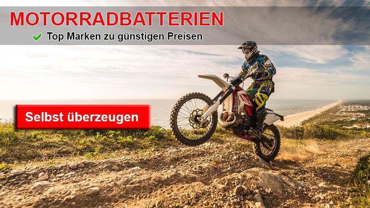 motorrad batterien