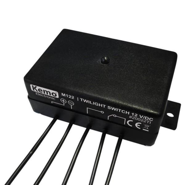 12V Dämmerungsschalter/Lichtsensor KEMO M122