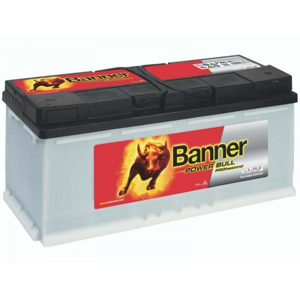 Banner P10040 Power Bull Professional 100Ah Autobatterie 600 402 083