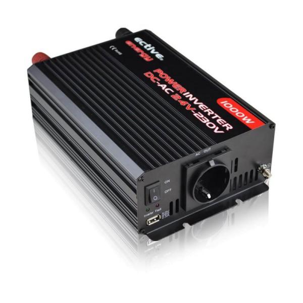 ECTIVE MI104 Power-Inverter 1000W/24V Wechselrichter