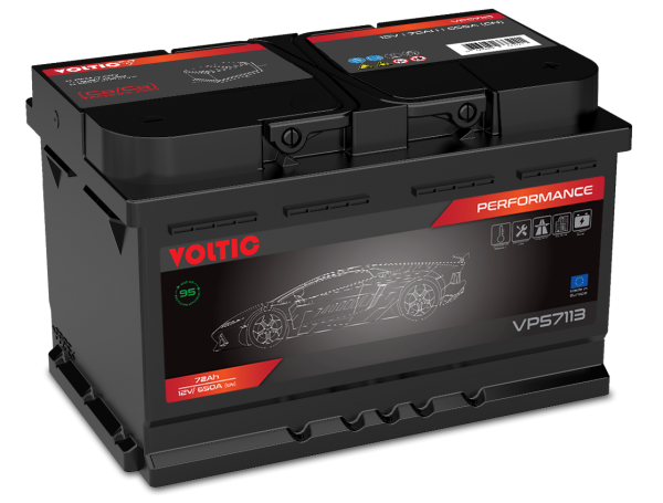 Voltic VP57113 Perfomance 72Ah Autobatterie 572 409 068