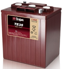 Trojan T35 Deep Cycle 6V Traktionsbatterie 245Ah