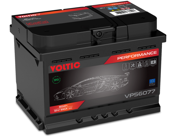 Voltic VP56077 Perfomance 60Ah Autobatterie 560 409 054