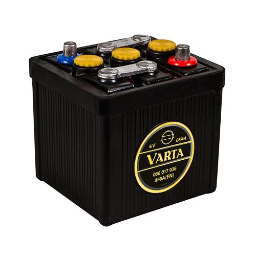 VARTA 066 017 036 Classic 6V Oldtimer-Batterie 66Ah