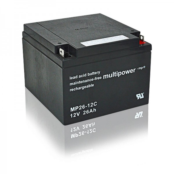 Multipower-MP26-12C-26Ah-AGM-Batterie