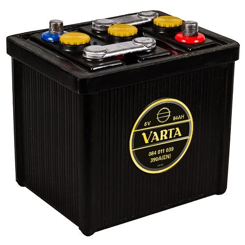 VARTA 084 011 039 Classic 6V Oldtimer-Batterie 84Ah