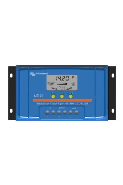 Victron BlueSolar 30A PWM Solar-Laderegler 12V/24V Batterie