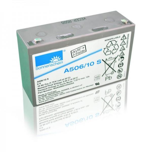 Sonnenschein-GEL-A506-10-S-10Ah-6V-Batterie