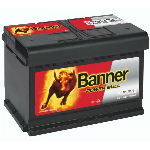 Banner P7209 Power Bull 72Ah Autobatterie 572 409 068