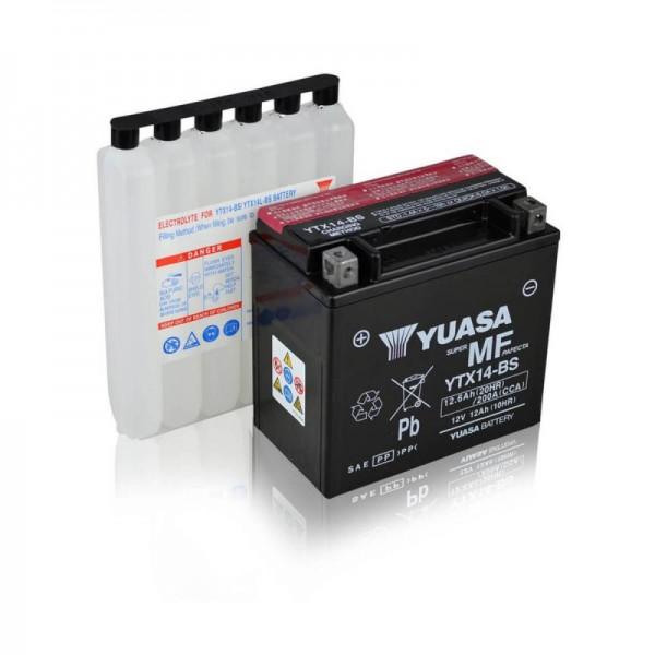 Yuasa-YTX14-BS-AGM-12Ah-Motorradbatterie-DIN-51214