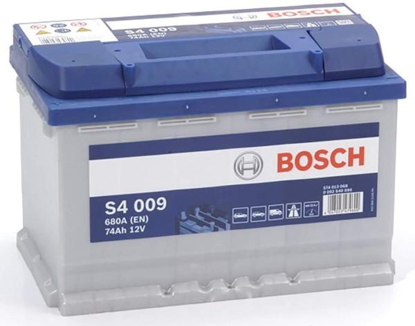 Bosch S4 009 74Ah Autobatterie 574 013 068