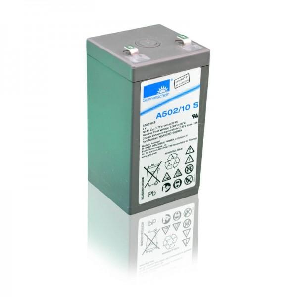 Sonnenschein-GEL-A502-10-S-10Ah-2V-Batterie