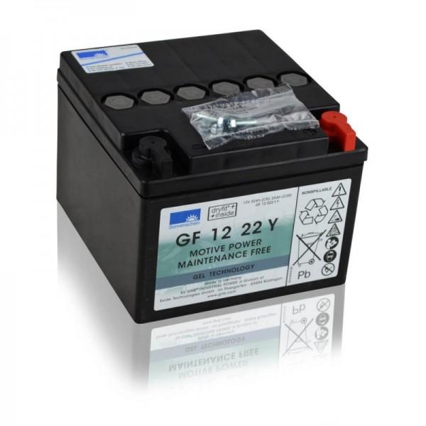 Sonnenschein-GF-12-22-Y-GEL-22Ah-Batterie